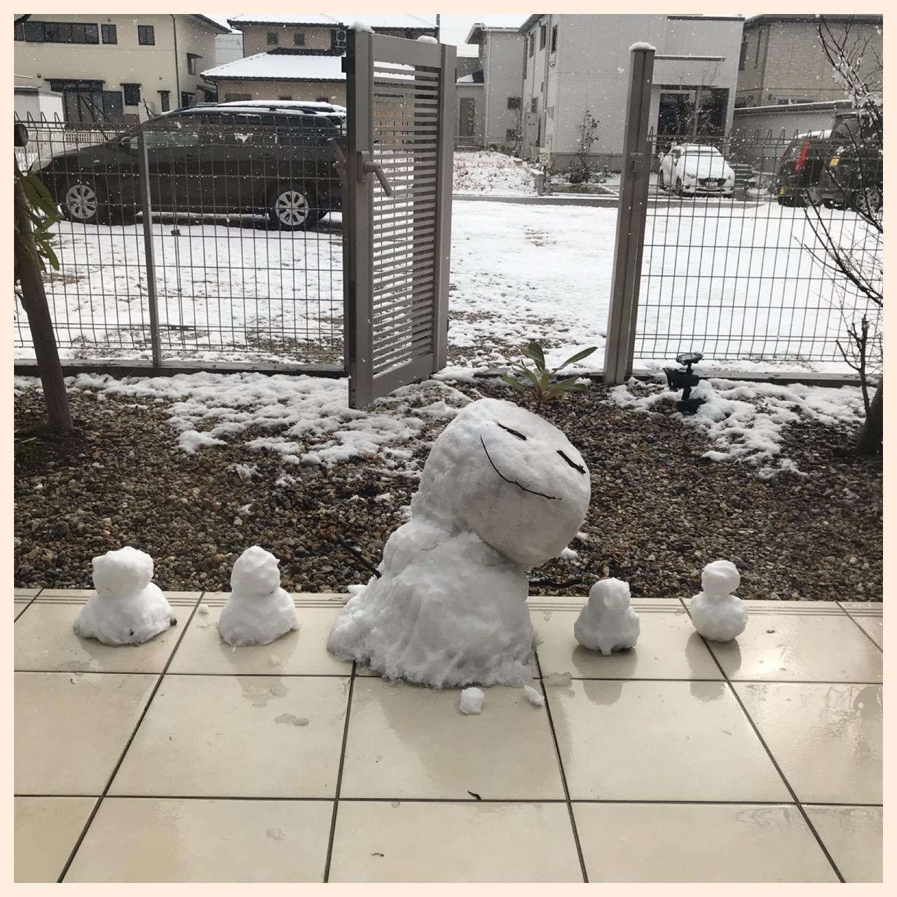 雪☃雪❄雪ー❅エルステージ志段味('ロ'('ロ'('ロ'('ロ' )!!!